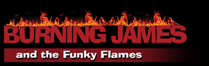Burning James Logo